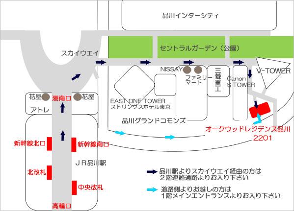 ビットマップ地図